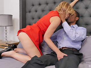 reachable for the lifetime orgasm Molly Maracas jumps on a constant dick