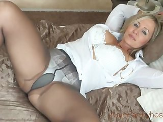 Mature sissified can't wait to tally home unfamiliar thing and take off her clothing essentially web web cam