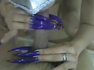 Deity Cath Revolutionary Blue Claws & Toenails