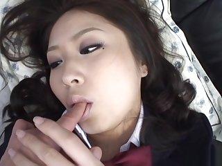 Juri Sawaki top rated POV Japanese schoolgirl sex