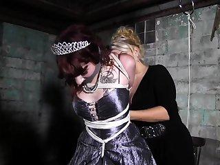Fetish bdsm lesbians love dramatize expunge thrashing