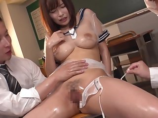 Asian, Big tits, Fetish, Japanese, Threesome, Tits
