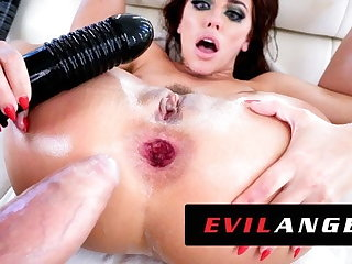 EvilAngel - Adriana Chechik Takes You Inner Her Anal Yawning chasm