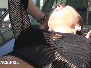 La France A Poil - Hot Blackness Babe Gets Deceptive Bonk