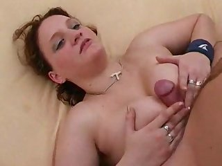 Big Tit Girl Uses Her Boobs As A Vagina