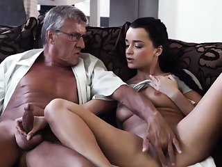 Old couple and girl hidden cam What would you select -