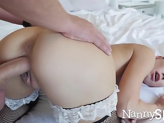 Horny nanny caught with their way hand in their way cookie jar! :o